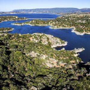 Il Nuraghe del lago Coghinas