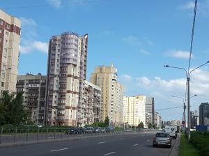Apartment at Prospekt Bolshevikov, Ferienwohnungen  Sankt Petersburg - big - 17