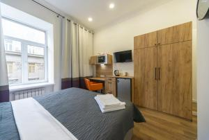 Partner Guest House Khreschatyk, Appartamenti  Kiev - big - 142