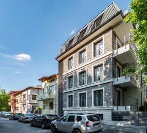 3 hviezdičkový apartmán Vila Cotroceni Boutique Apartments Bukurešť Rumunsko