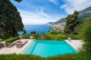 Luxury villa 5L, best Monaco view - Roquebrune-Cap-Martin