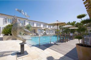 Location gîte, chambres d'hotes Le Clos Saint-Martin Hôtel & Spa dans le département Charente maritime 17