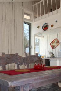 Apart-cottage retro-mini with Sauna - Goncharovo