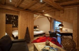 Hotel Les Mélèzes, Hotely  Les Deux Alpes - big - 17