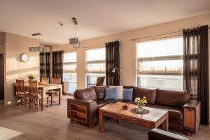 Apartament z widokiem na morze w Hotelu Arka
