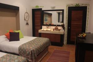 Hotel Boutique La Casona de Don Porfirio, Hotels  Jonotla - big - 4
