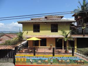 Oak Tree house, Kúriák  Guatapé - big - 21