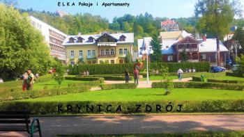 pokoje Krynica-Zdrój ul.Cicha 2
