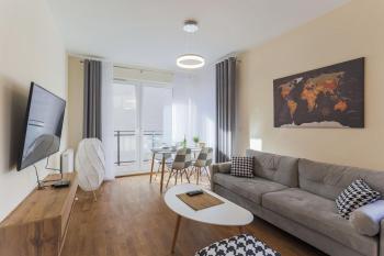 pokoje Gdańsk 10 Długa Grobla Apartment 73