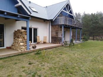 pokoje Białogóra Wierzchucino Wybudowanie, Lesna