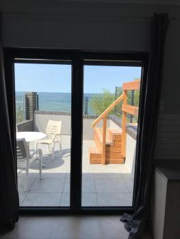 pokoje Międzywodzie Warszawska ( Na Wydmie ) Domek Bungalow z widokiem na morze
