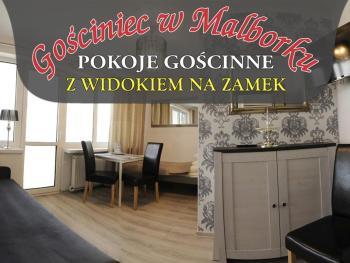 pokoje Malbork Wałowa 20A