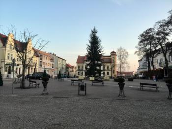 pokoje Mikołajki Plac Wolności