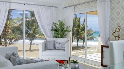 0057 Oceanfront 2 bedrooms condo in Cabarete