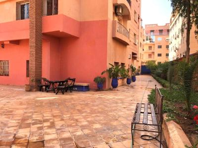 Route Casablanca. 3 Rooms. Furnished.