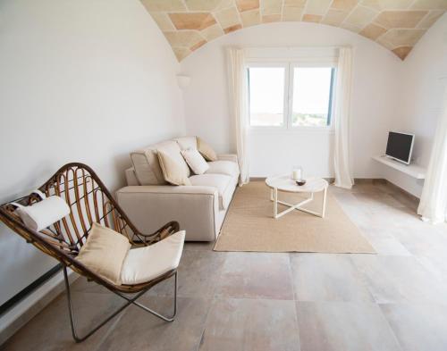Habitación Doble Superior con terraza - 1 o 2 camas Agroturismo Son Vives Menorca - Adults Only 9