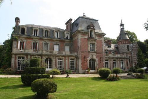 Kasteel-overnachting met je hond in Château de Bertreville - Bertreville-Saint-Ouen