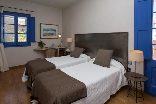 Doppel- oder Zweibettzimmer - Einzelnutzung Hostal de la Plaça 71