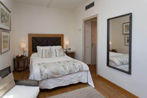Superior Doppelzimmer - Einzelnutzung Hostal de la Plaça 57