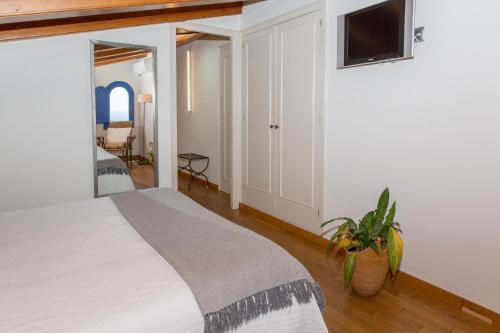 Superior Doppelzimmer - Einzelnutzung Hostal de la Plaça 64