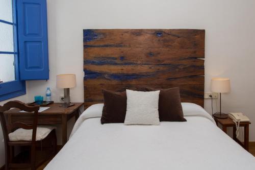 Doppel- oder Zweibettzimmer - Einzelnutzung Hostal de la Plaça 75