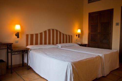 Doppel-/Zweibettzimmer mit eigener Terrasse Cigarral de Caravantes 46
