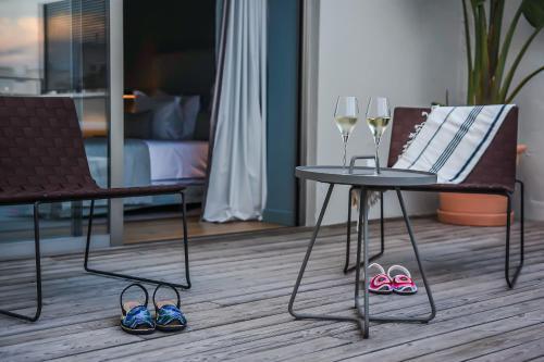 Habitación Doble Superior con terraza Casa Ládico - Hotel Boutique 48