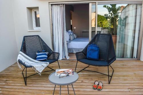Habitación Doble Superior con terraza Casa Ládico - Hotel Boutique 38