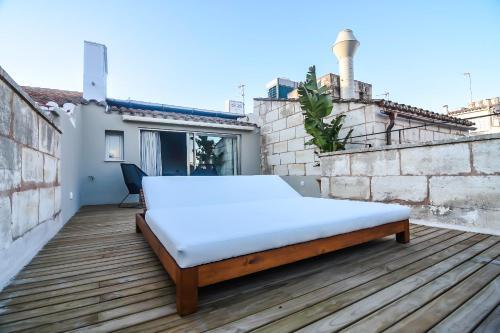 Habitación Doble Superior con terraza Casa Ládico - Hotel Boutique 53