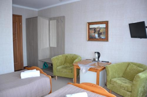 Cameră twin cu balcon (Twin Room with Balcony)