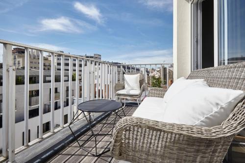 Appartement Lumineux avec terrasse impression