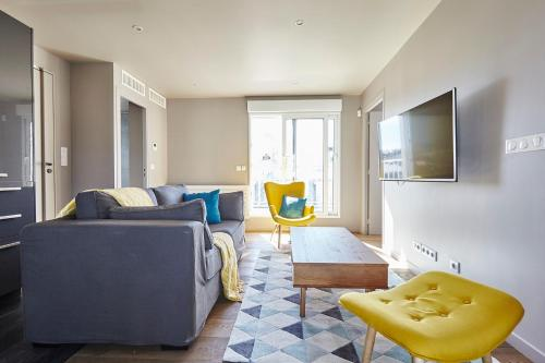 Appartement Lumineux avec terrasse photo 17