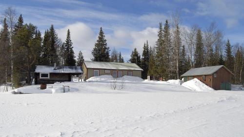 Lakeside House in Lapland - Skaulo
