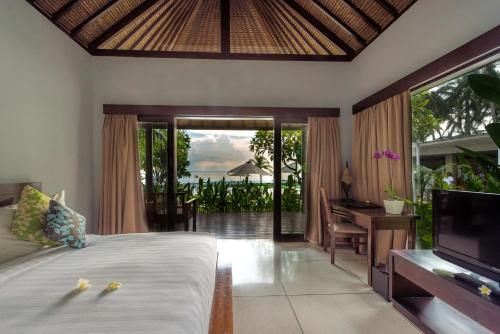 Kamar Deluxe Double dengan Pemandangan Laut (Deluxe Double Room with Ocean View)