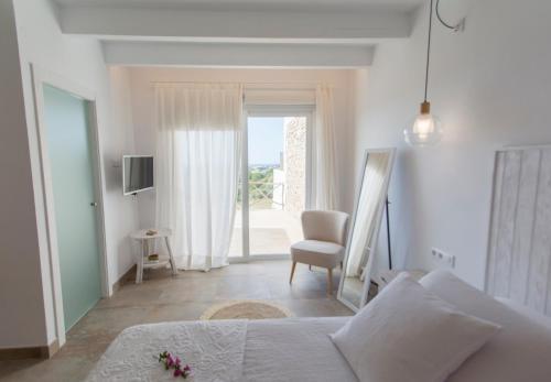 Habitación Doble con terraza Agroturismo Son Vives Menorca - Adults Only 8