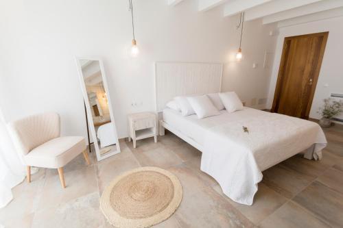 Habitación Doble con terraza Agroturismo Son Vives Menorca - Adults Only 9