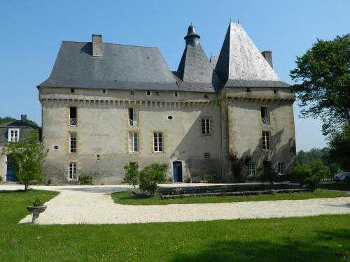 Kasteel-overnachting met je hond in Château de Mavaleix - Chaleix