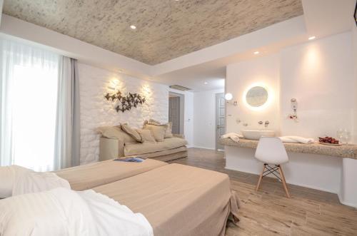 Villa Adriana Hotel salas fotos