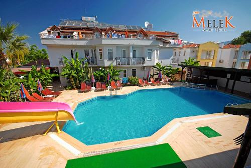 Fethiye Melek Apart Hotel rooms
