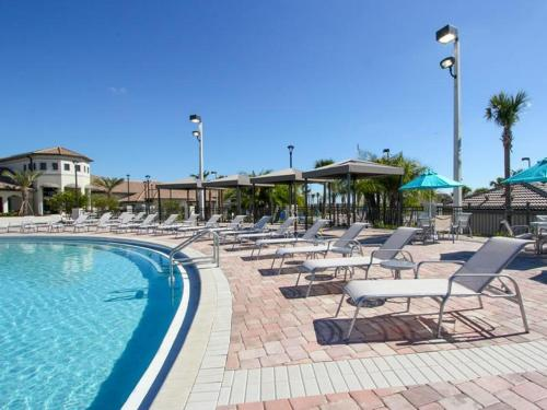 Championsgate Five Bedroom House With Private Pool W1f - Kissimmee, FL 33896