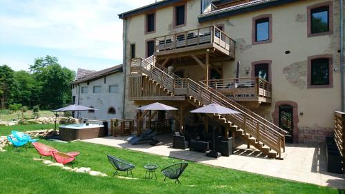 Le Moulin d'Oscar & Spa - Mulhouse Nord - Accommodation - Baldersheim