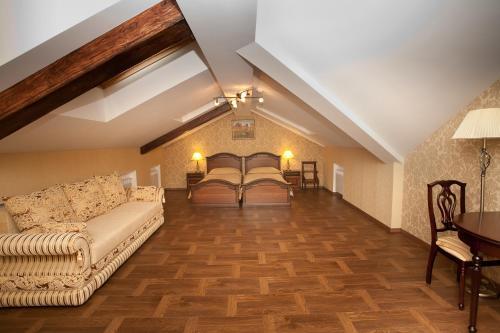 Castle Отель Улучшенный двухместный номер с 2 отдельными кроватями