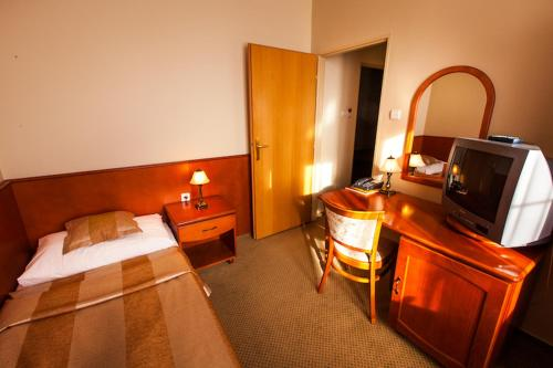 Standard Single Room Park Hotel Tartuf
