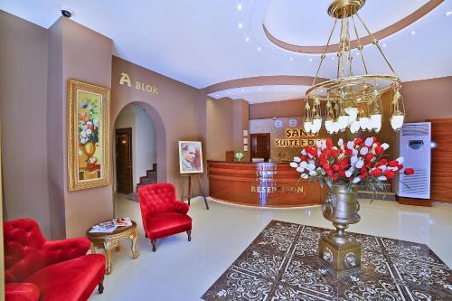 Istanbul Sanli Suite Hotel odalar
