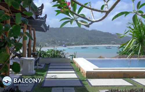 . Balcony Ocean View Villas