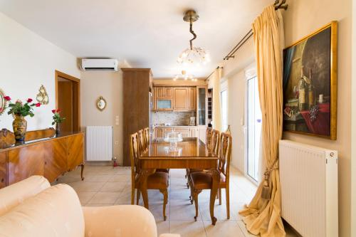 Two bedroom apartment in a two-storey building in Greece