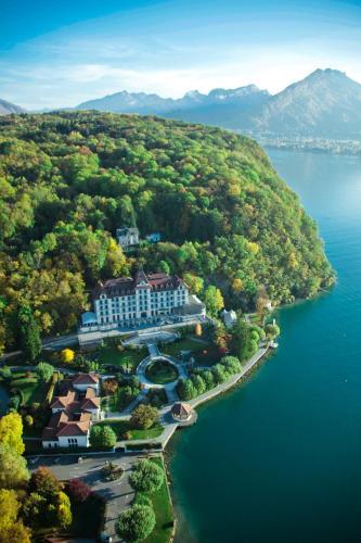 665 route des Bains, 74290 Menthon Saint Bernard, Lake Annecy, France.