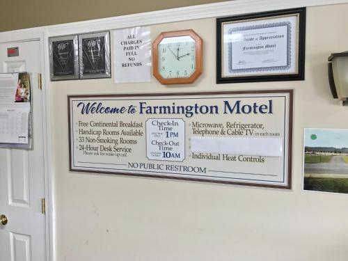Farmington Motel - Farmington, ME 04938