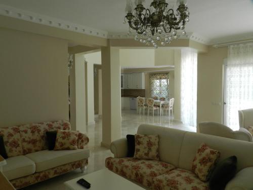 Kemer Canik Villa odalar