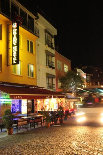 Istanbul Orient Hostel yol tarifi